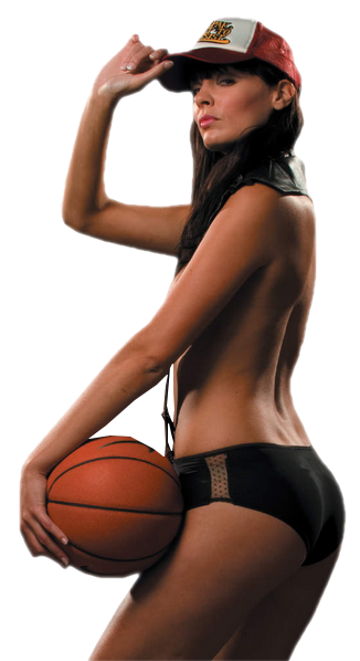 Basket, fille sexy