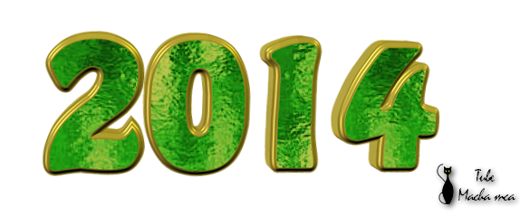 2014 texte png tube