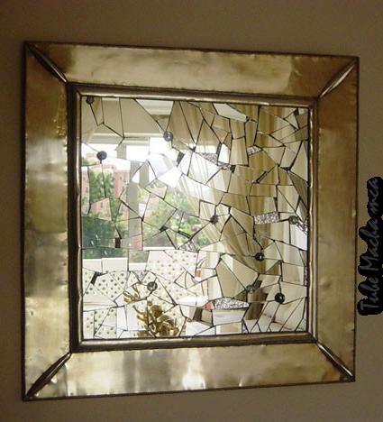 Tubes miroir for Le miroir brise